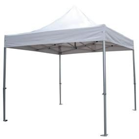 Tente 3 x 3 m 450 g/m² structure alu + sac (photo)