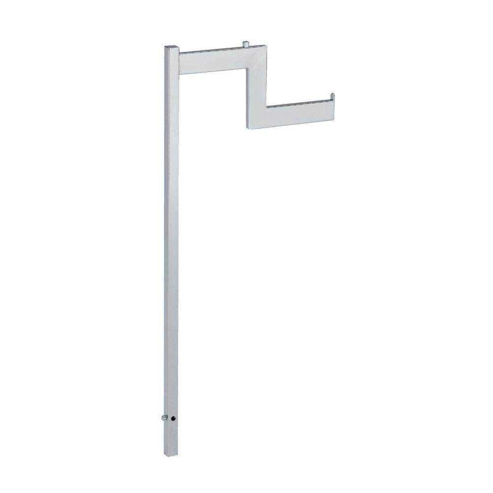 Bras escalier chromé pour portant 44477/44478 x2 (photo)
