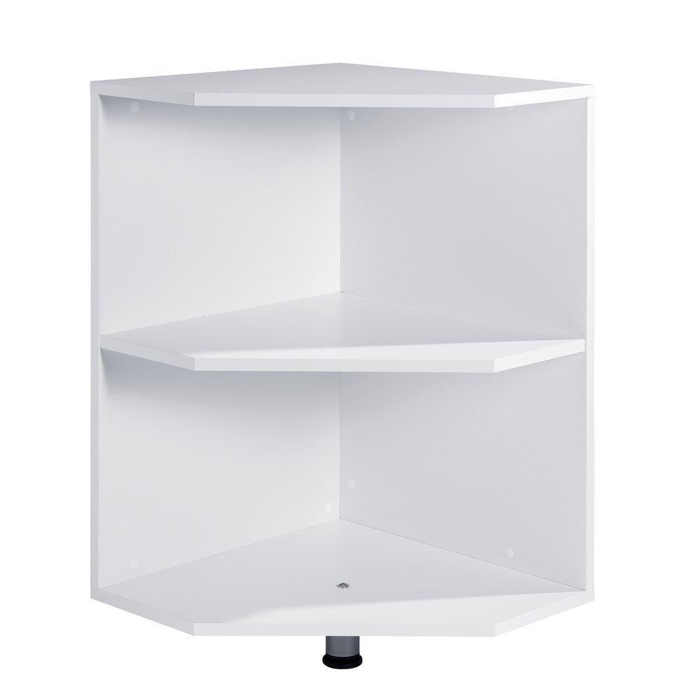 Angle de liaison blanc pour comptoir Banko (photo)