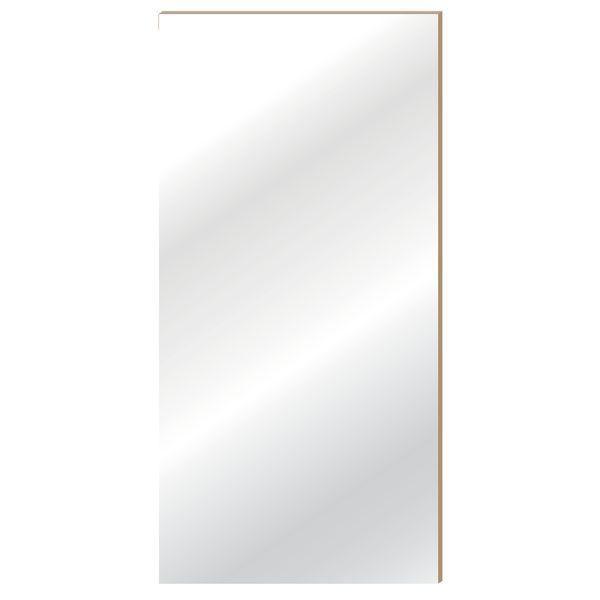 Panneau 'Alias' blanc laqué L59x120cm (photo)