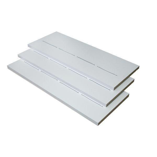 Tablette inclinée Flexia blanc L.115x45x3cm - par 3 (photo)