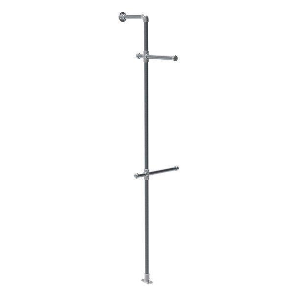 Structure Urban colonne métal mat H.243cm - kit (photo)