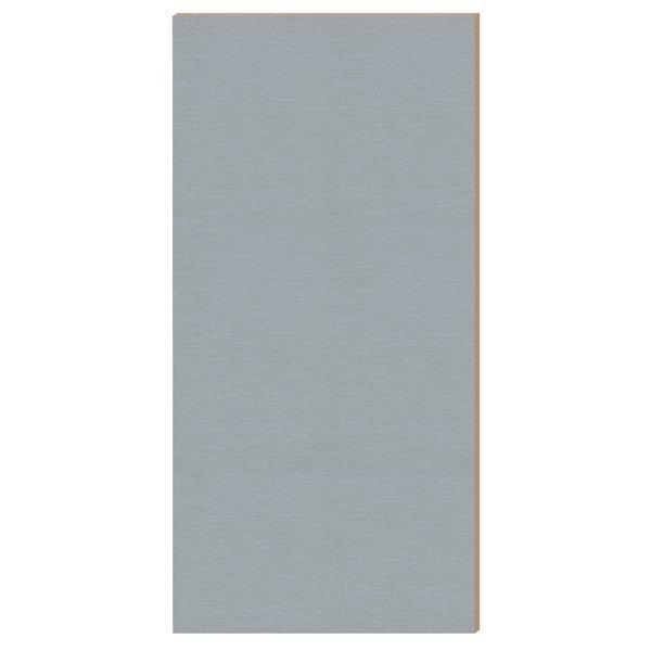 Panneau Alias gris alu L.59 x H.120cm (photo)