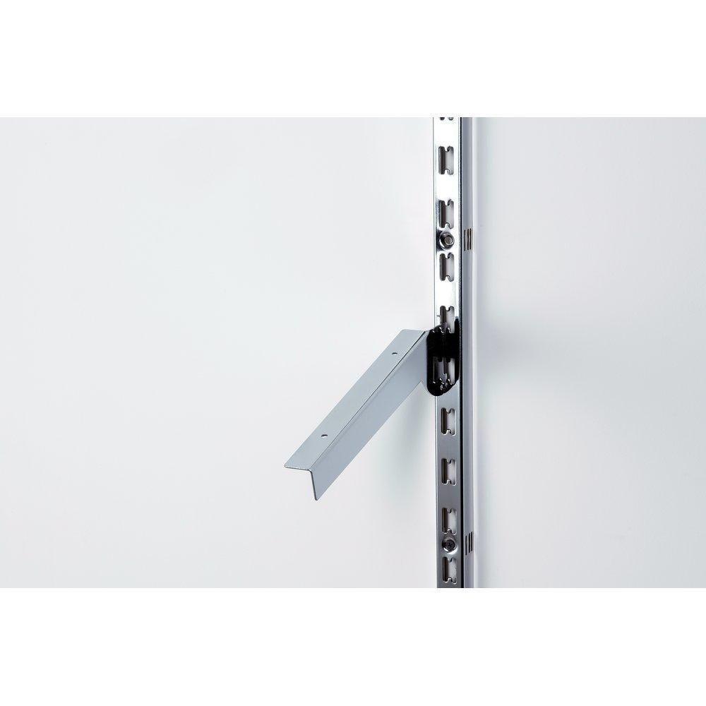 Consoles inclinées x2 L30cm chrome pour système Alias+Queen Vogue (photo)