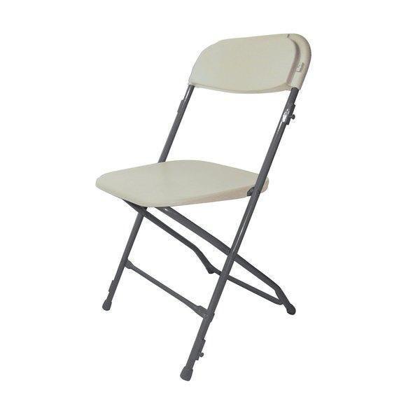 Chaise pliante extérieur beige (photo)