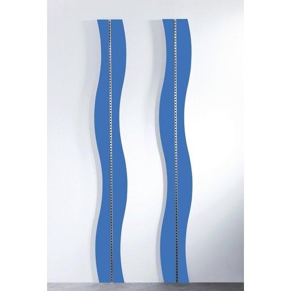 Panneau Vague bleu caraîbes pour crémaillère Réf.45565 - L.240cm (photo)