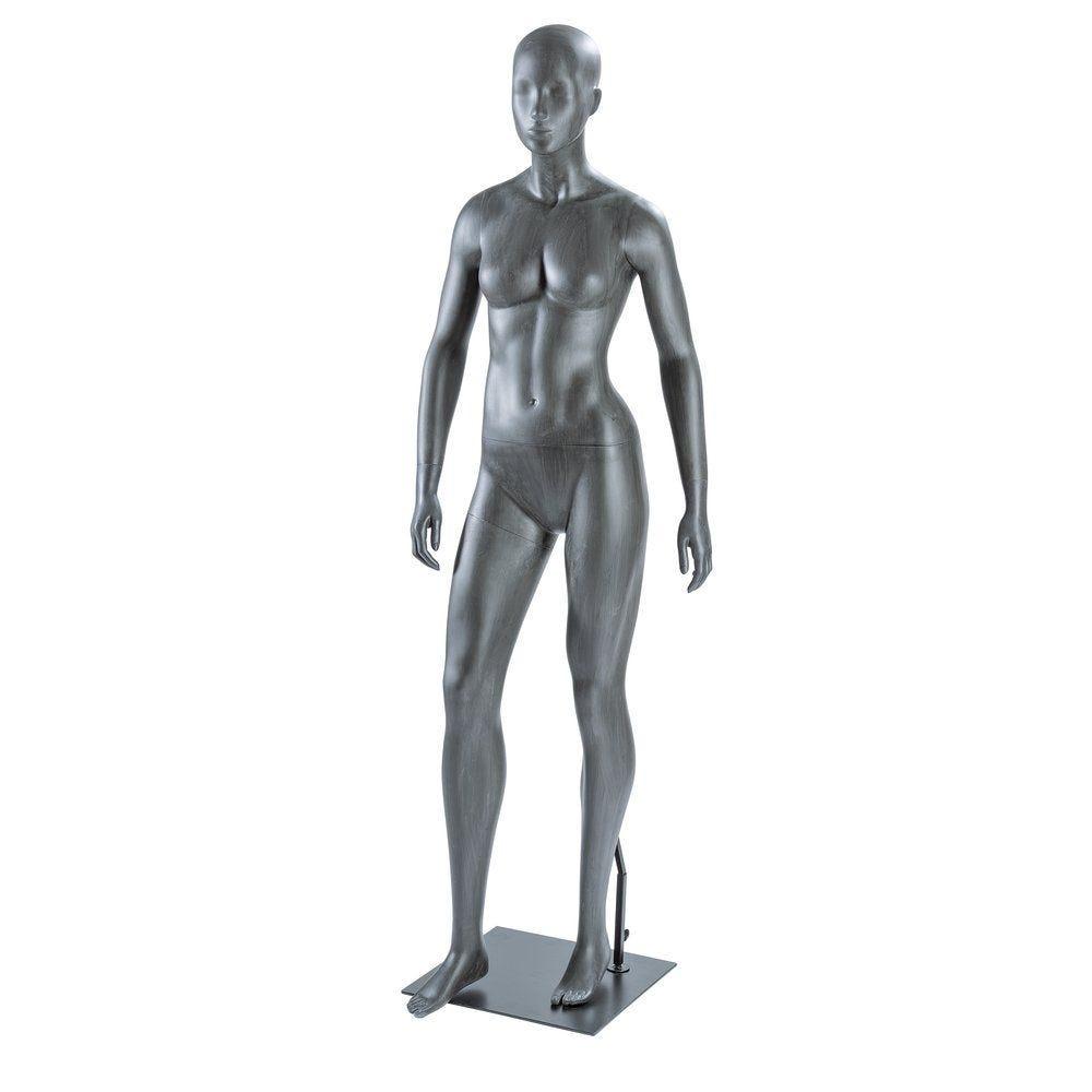 Mannequin femme ''URBAN'' gris délavé (photo)
