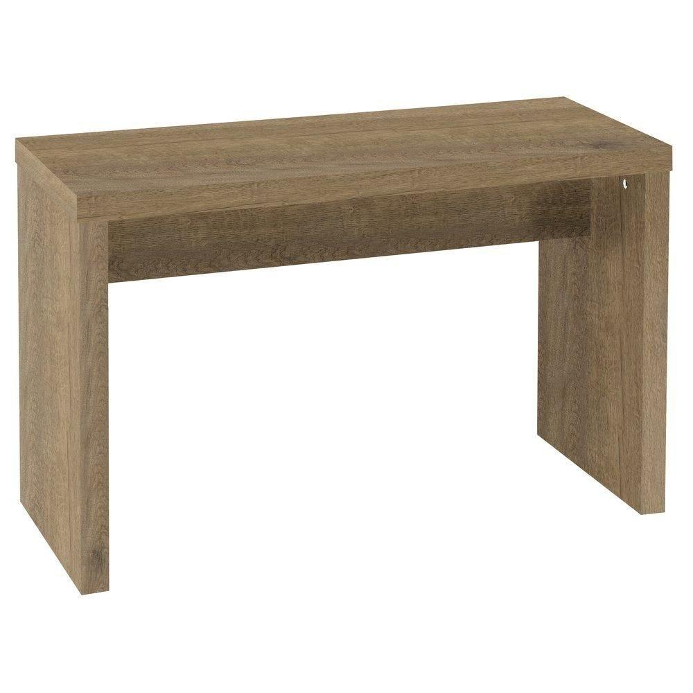Table gigogne Flexia coloris chêne authentique L.90x40x60cm (photo)