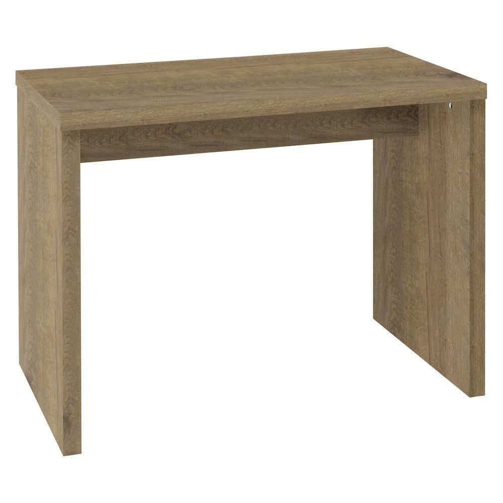 Table gigogne Flexia coloris chêne authentique L.100x60x80cm (photo)