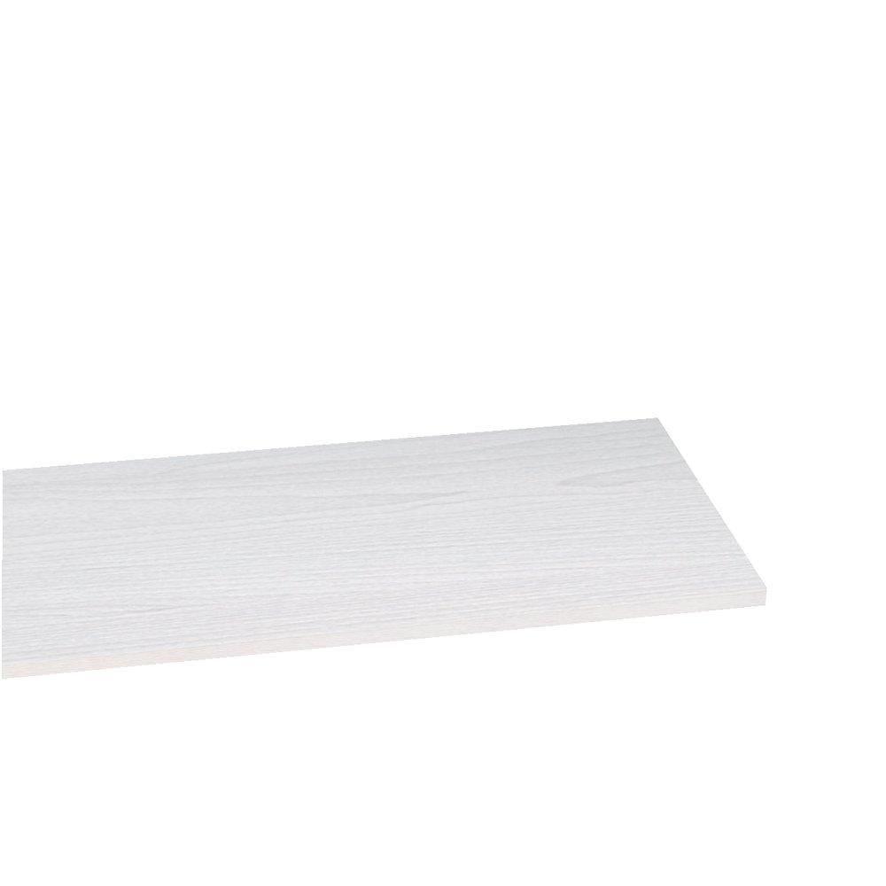 Tablette 90x30cm ep.22mm bois blanchi (photo)