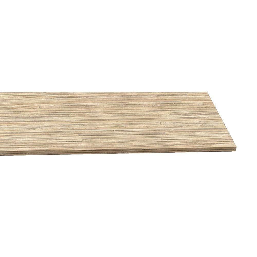 Tablette 120x30cm ep.18mm coloris bambou (photo)