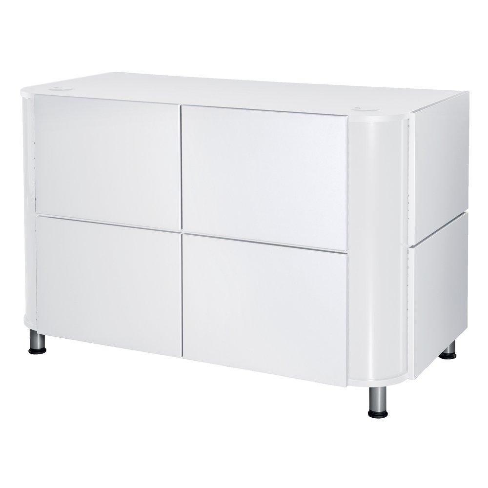 Comptoir Mega blanc L136xP68xH93cm (photo)