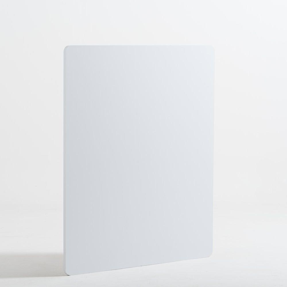 Façade de comptoir Réceptio blanche L90cm H107cm (photo)