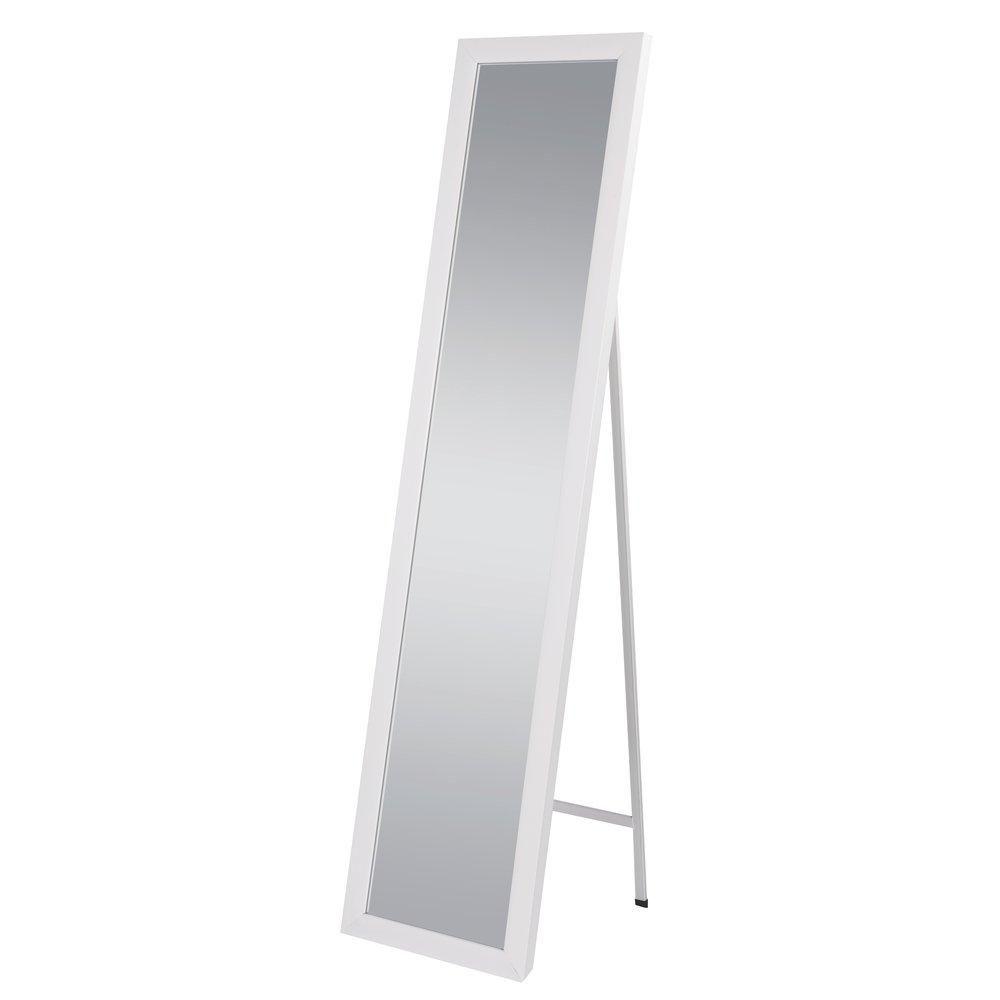 Miroir sur pied blanc 37x157 cm (photo)
