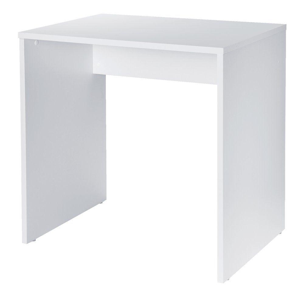 Extension PMR de comptoir d'accueil Réceptio blanc L.73 x P.50 x H.72cm (photo)