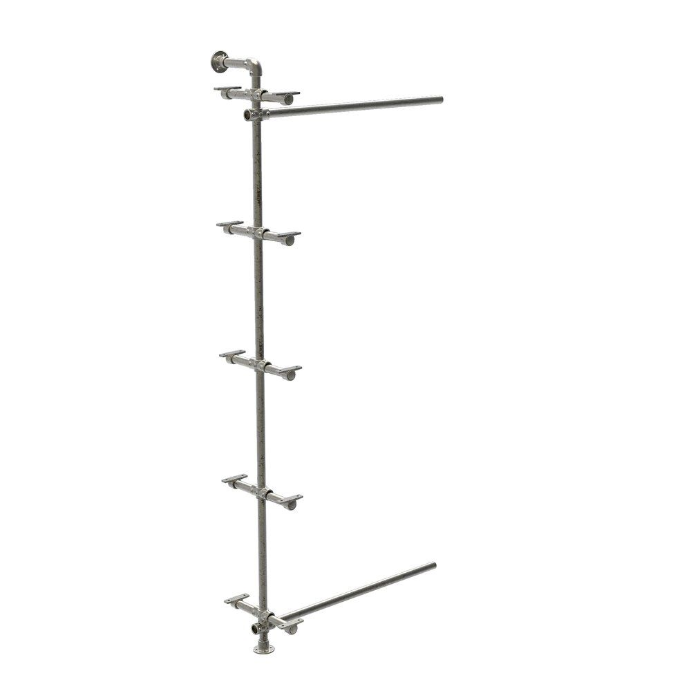Kit extension pour structure Urban 'Used' 5 supports tablettes réf. 46685 (photo)
