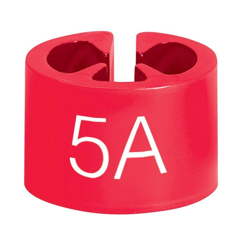Marque tailles 5 ans rouge par 50 (photo)
