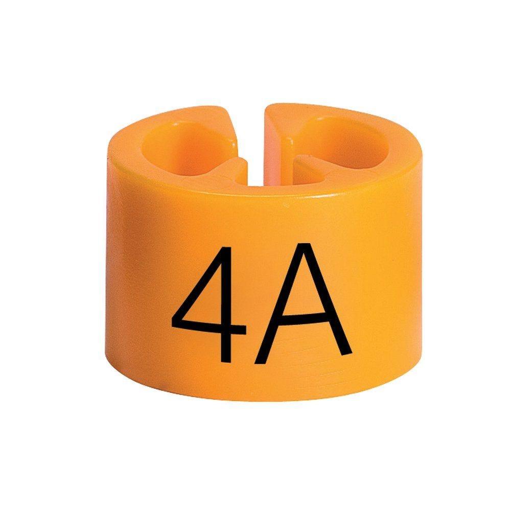 Marque tailles 4 ans orange par 50 (photo)