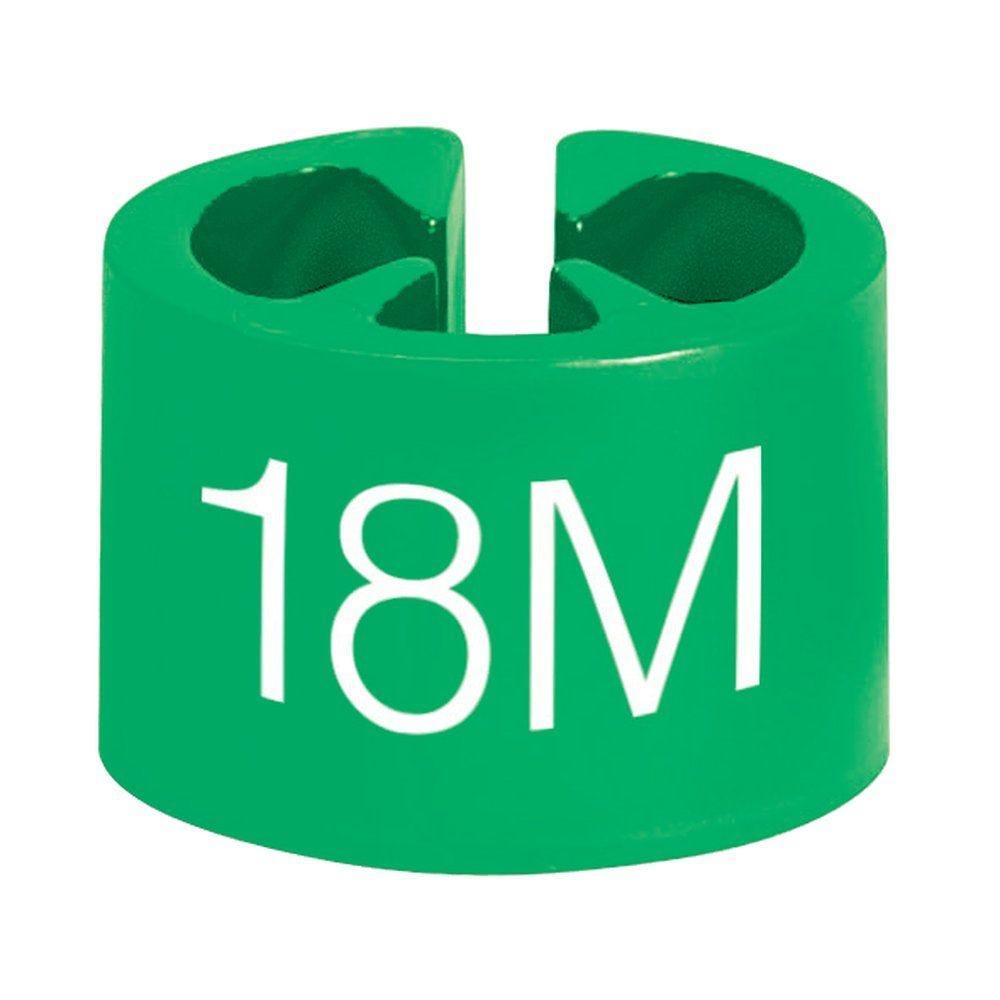 Marque tailles 18 mois vert par 50 (photo)