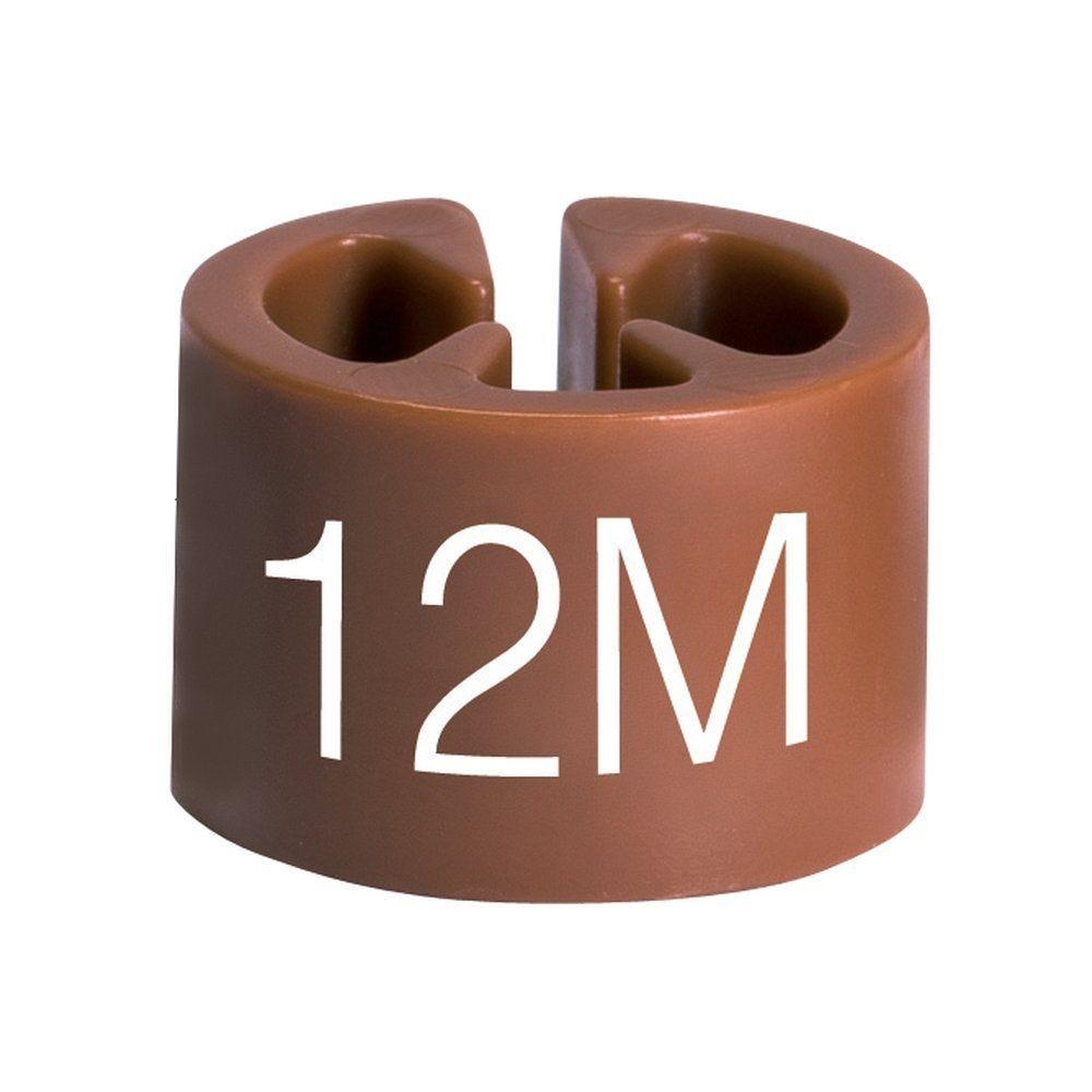 Marque tailles 12 mois marron par 50 (photo)