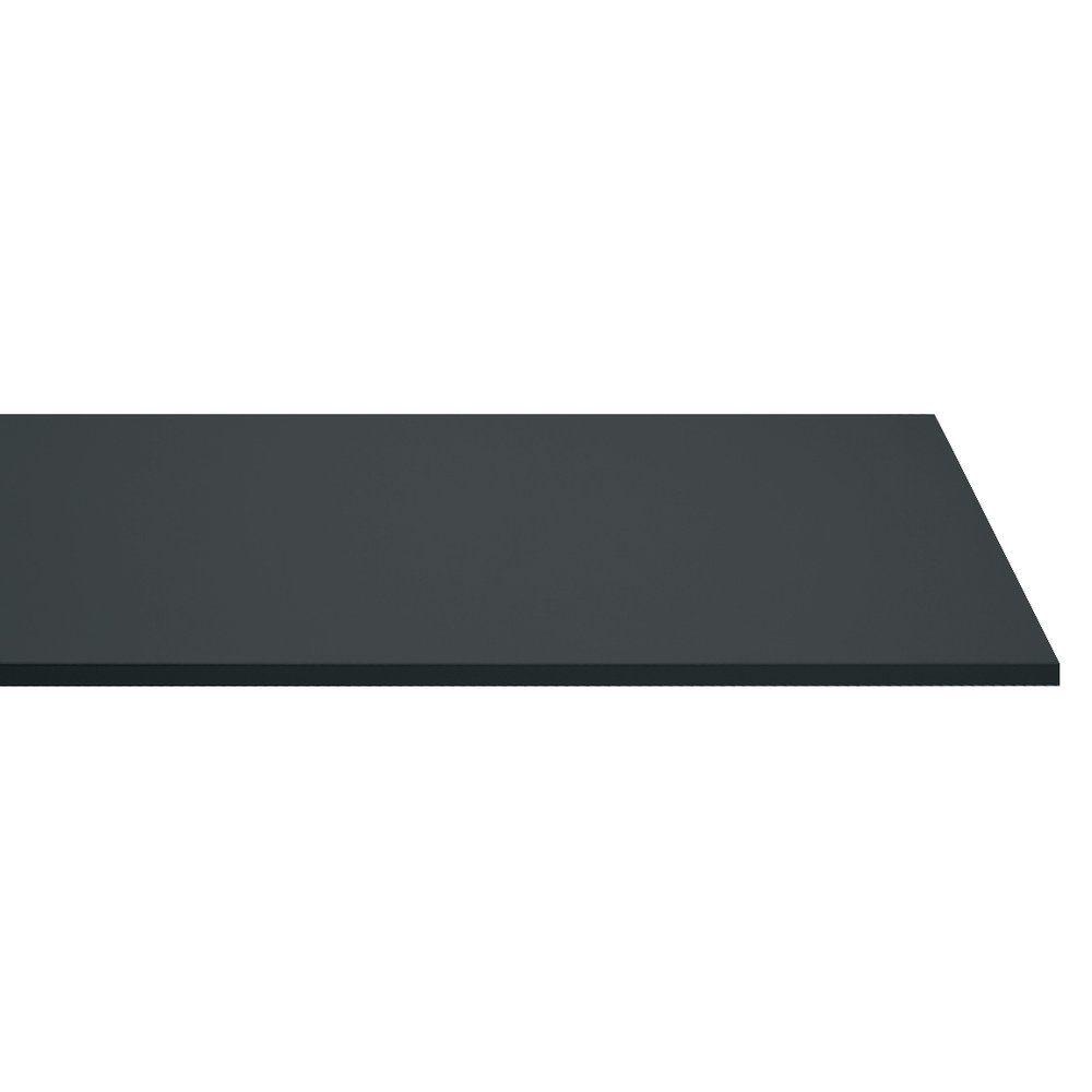 Tablette anthracite 120x30cm épaisseur 18mm (photo)