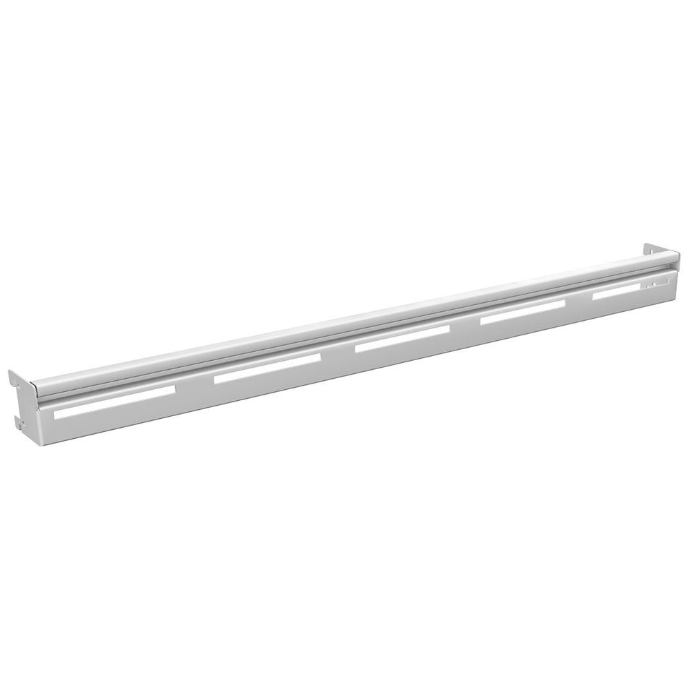 Barre de charge mixte L100cm blanc 9003 (photo)