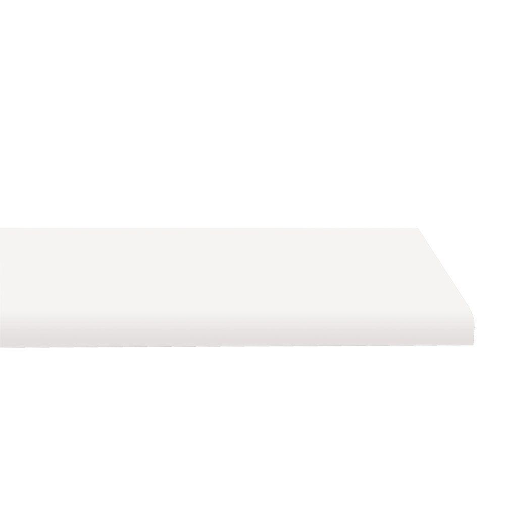 Plan de travail stratifié blanc x2 L2000x600mm épaisseur 38mm (photo)