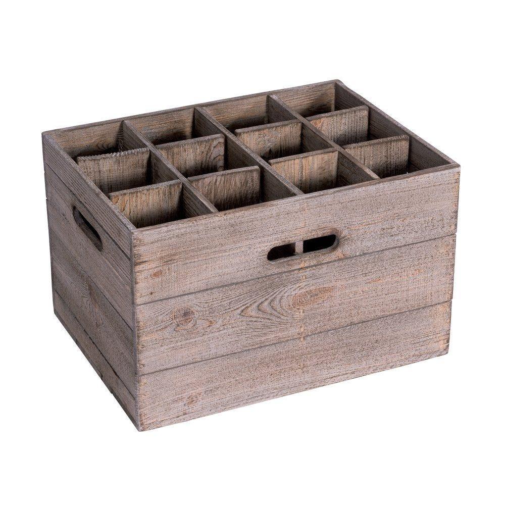 Casier Héritage 12 cases L39 x P34 x H45cm pour meuble réf. 48082 (photo)