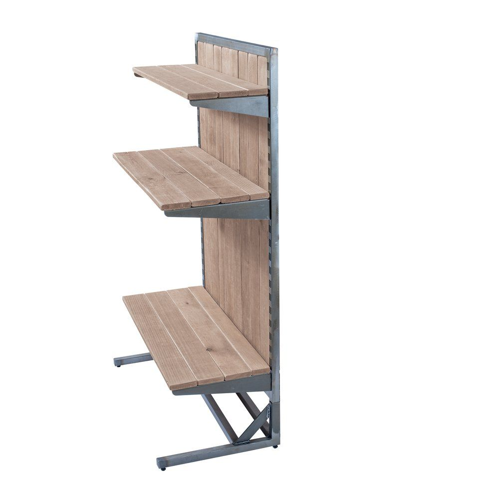 Structure gondole Héritage simple face 90x45x145cm