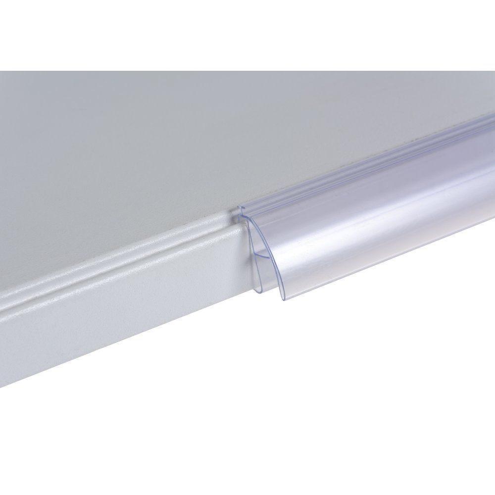 Porte étiquette transparent pour tablette CAEM M25 26X688mm (photo)