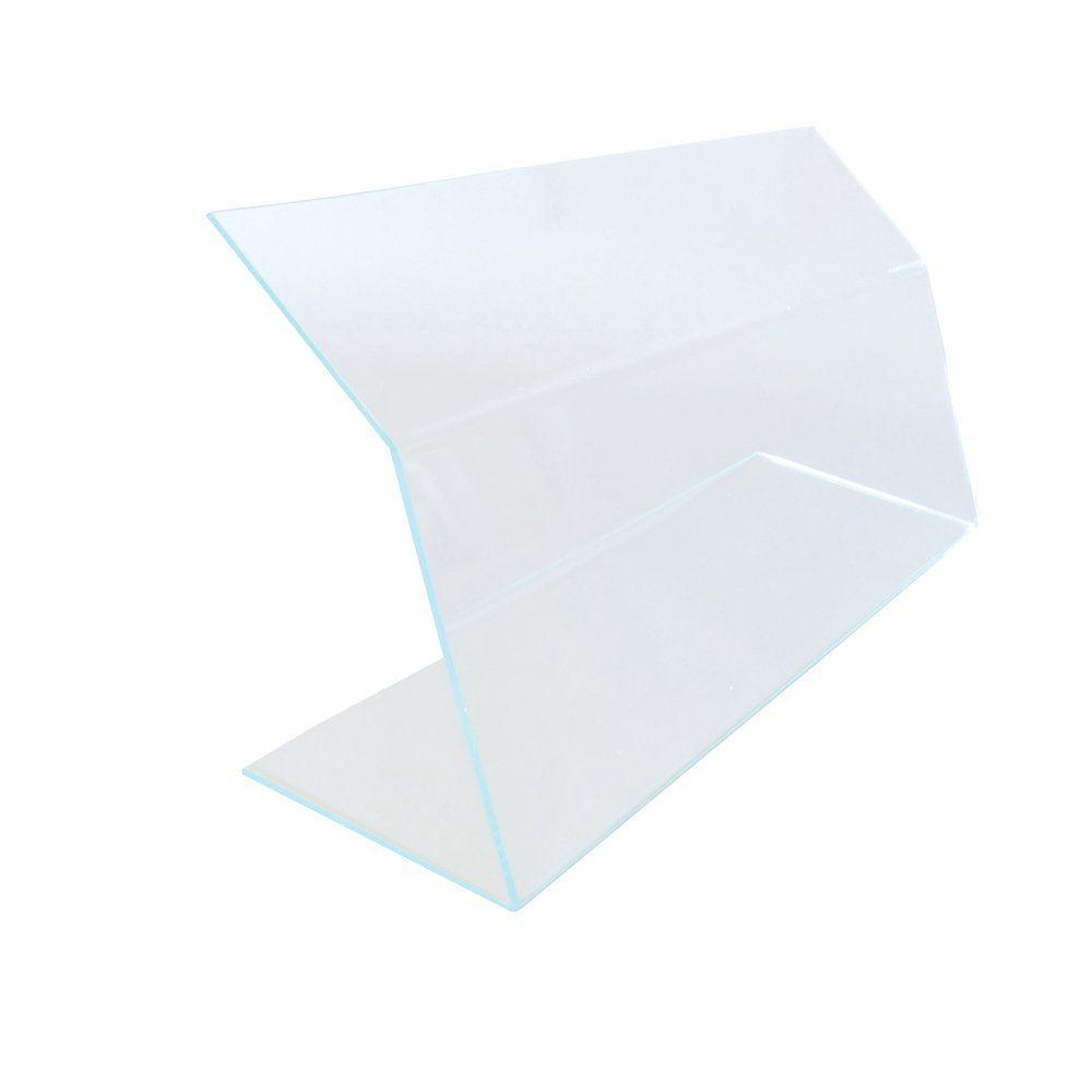 Vitrine de protection L50 x P17 x H20 cm Ep.4mm Transparent