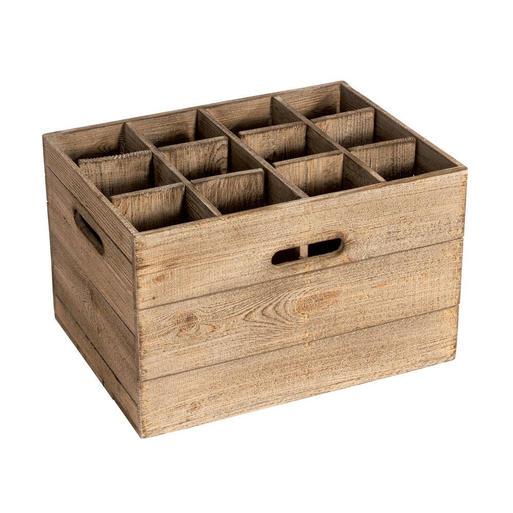 Casier Westside 12 cases L39 x P34 x H45cm pour meuble réf. 48082 (photo)