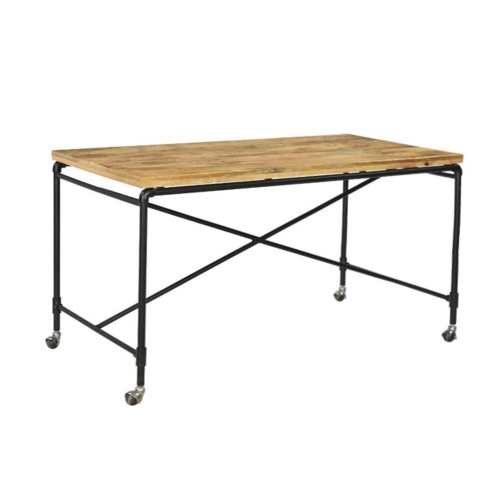 Table Portland grande taille 140x70x75 cm (photo)