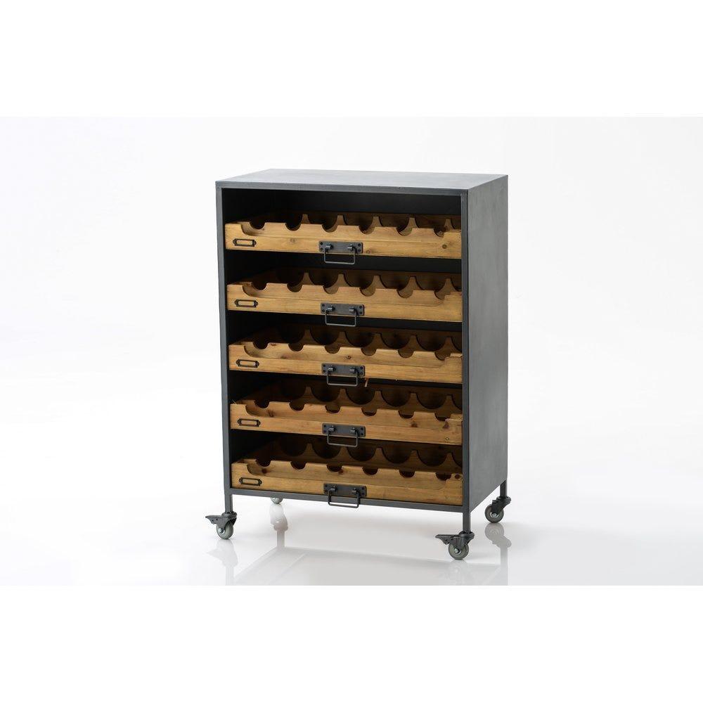 Armoire à vin L64x P35 x H90 cm (photo)