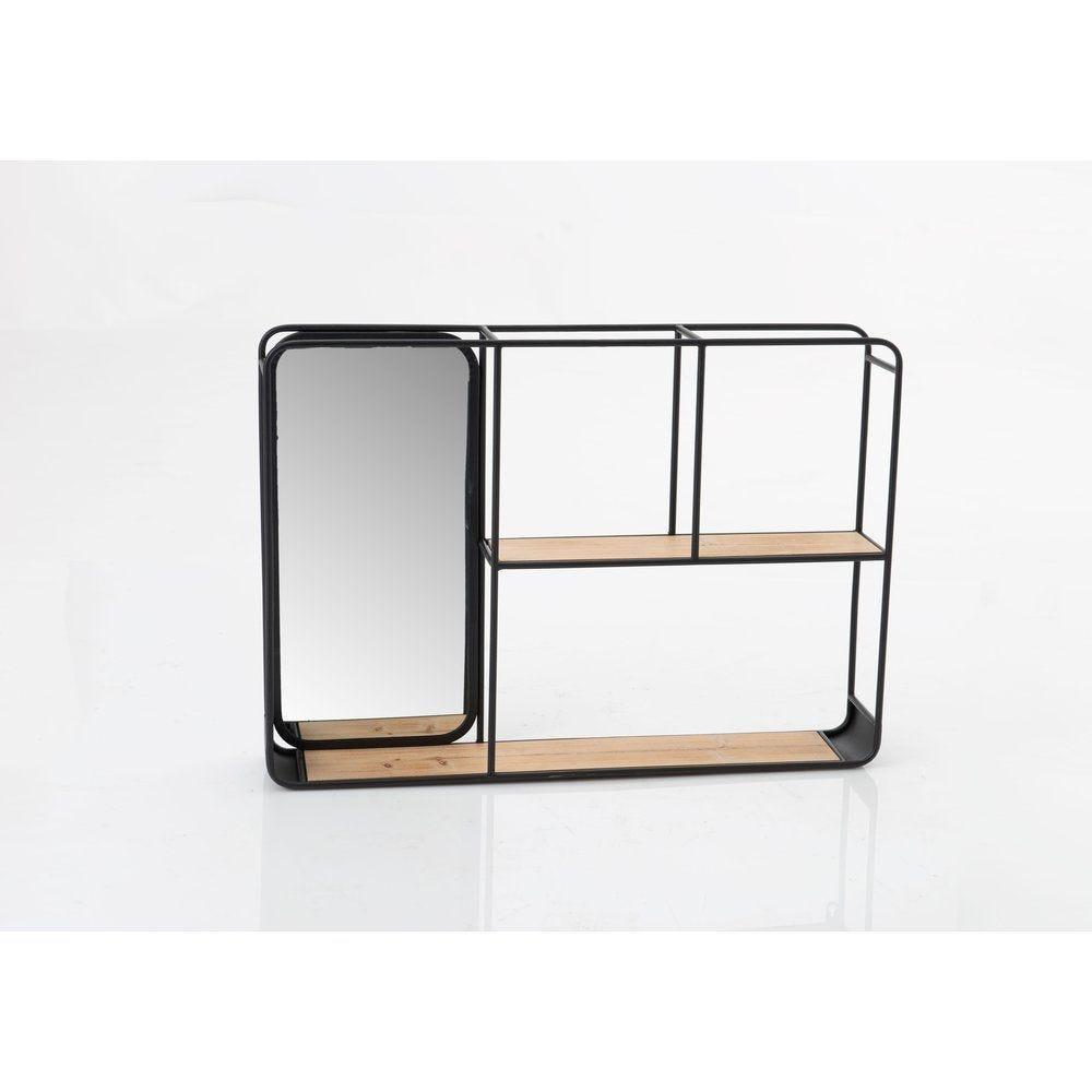 Etagère rectangle Niko L70 x P 12 x H 50 cm