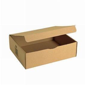 Boîte postale brune 36 x 28 x 11 cm par  20 (photo)