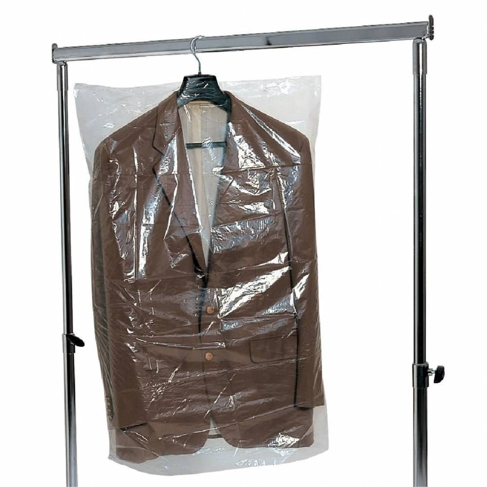 Housse vêtements 60 x 90 cm - rouleau de 500 (photo)