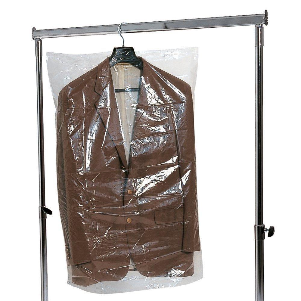 Housse vêtements 60 x 120 cm - rouleau de 500 (photo)