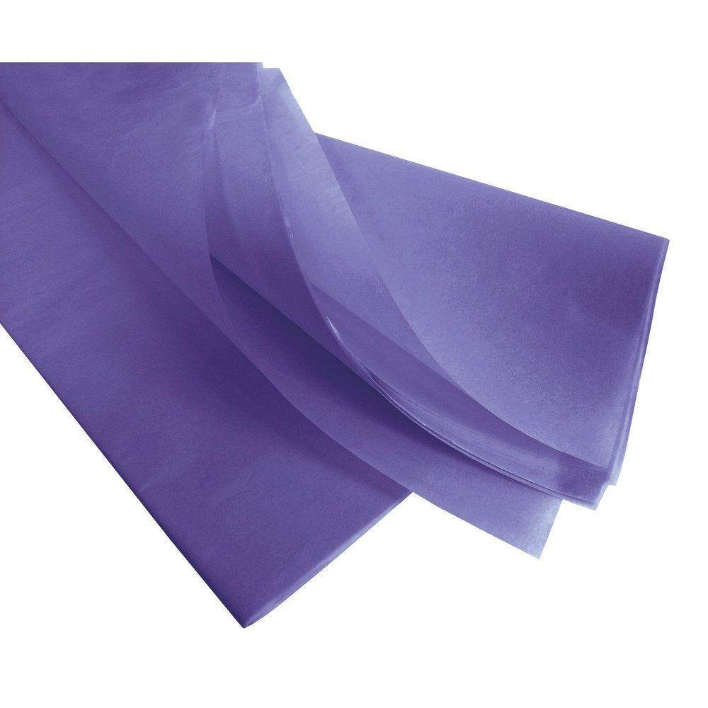 Papier de soie 50  x 75 cm - lilas (photo)