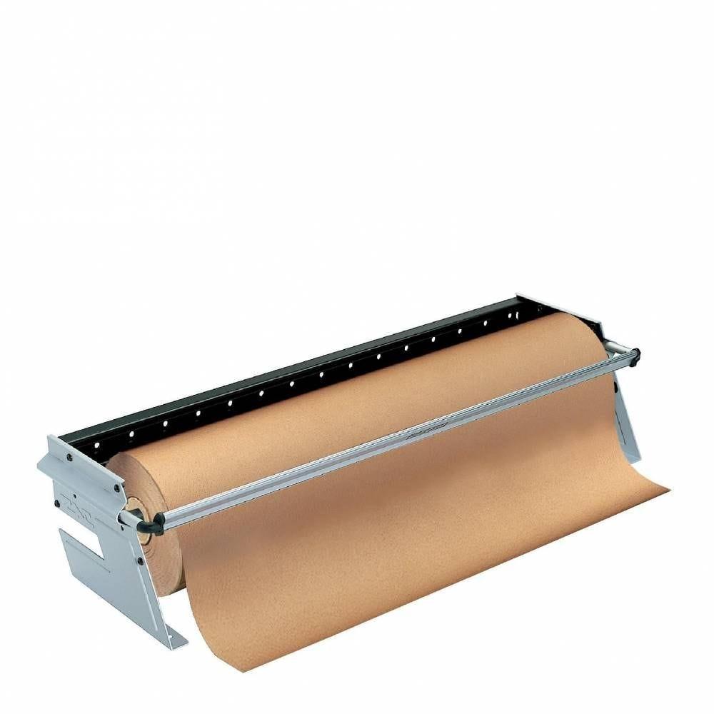 Dévidoir de comptoir pour bobine papier cadeau L 70 cm (photo)