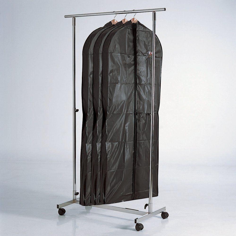 Housses pour robes et manteaux - par 3 - 60x152 cm (photo)