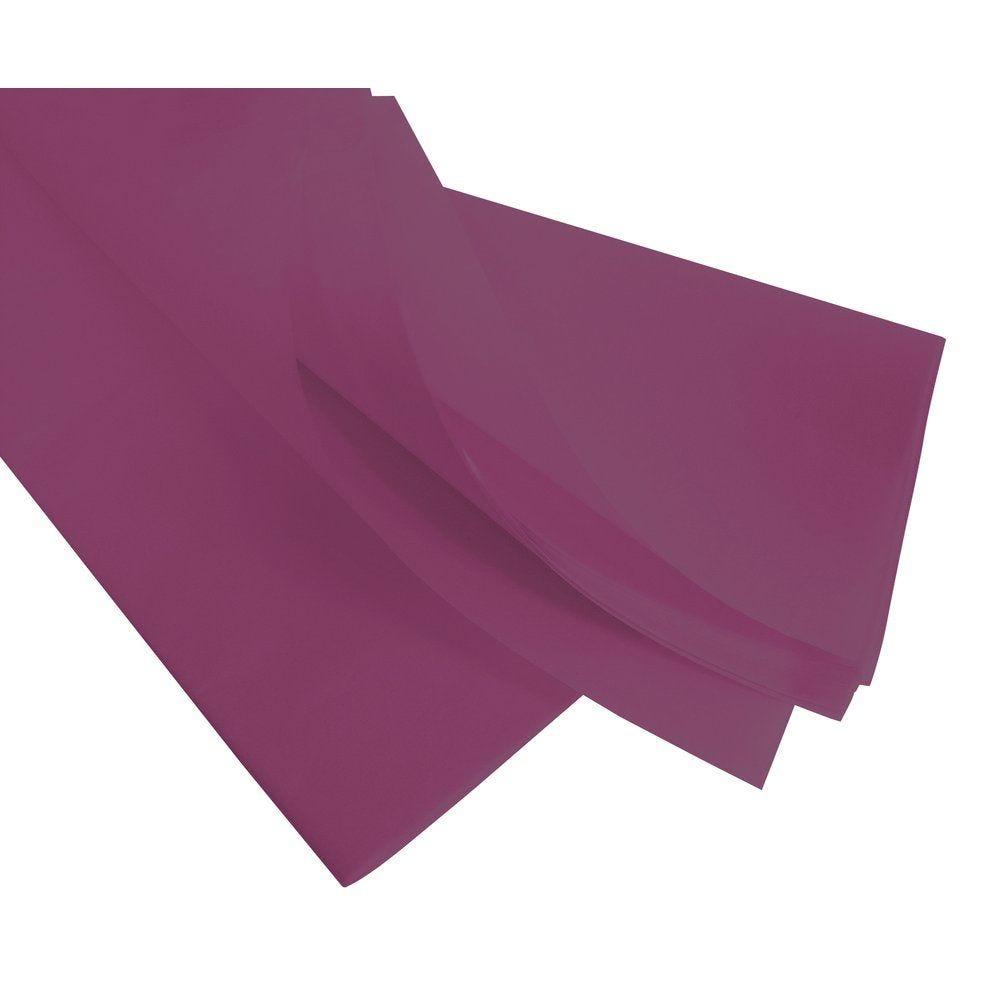 Papier de soie 50  x 75 cm - lie de vin (photo)