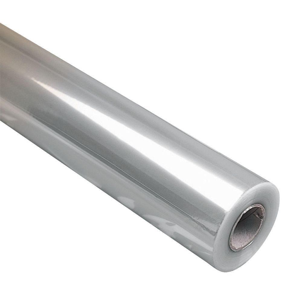 Film polypropylène transparent neutre 35 µ  0.50 x 120m (photo)
