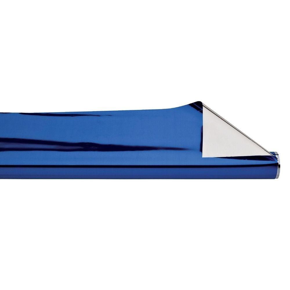 Polypro bleu et argent 70cm x 50m (photo)