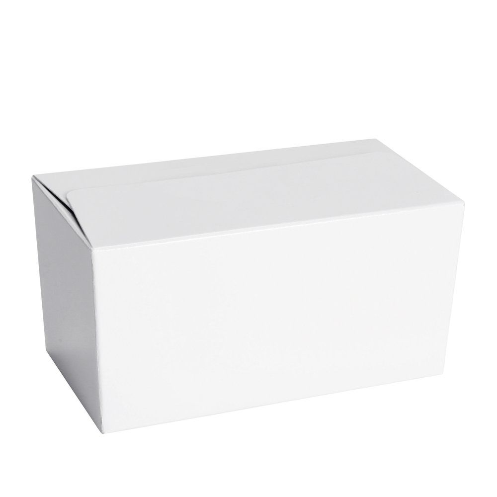 Ballotin blanc intérieur blanc 250g par 50 (photo)