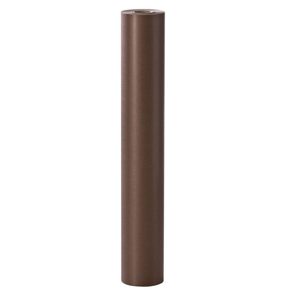 Papier cadeau kraft chocolat 100 mx70cm (photo)