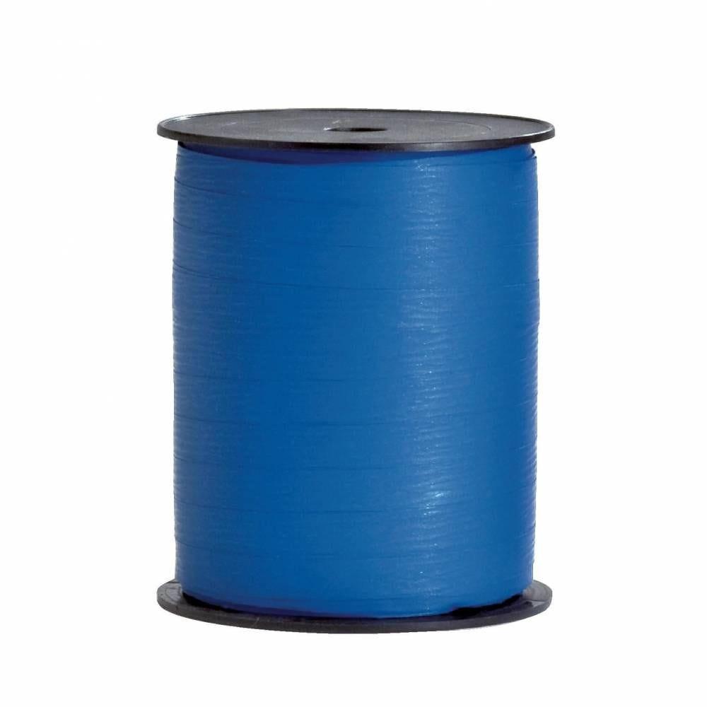 Bolduc  papier synthétique 10mm x 250m bleu (photo)