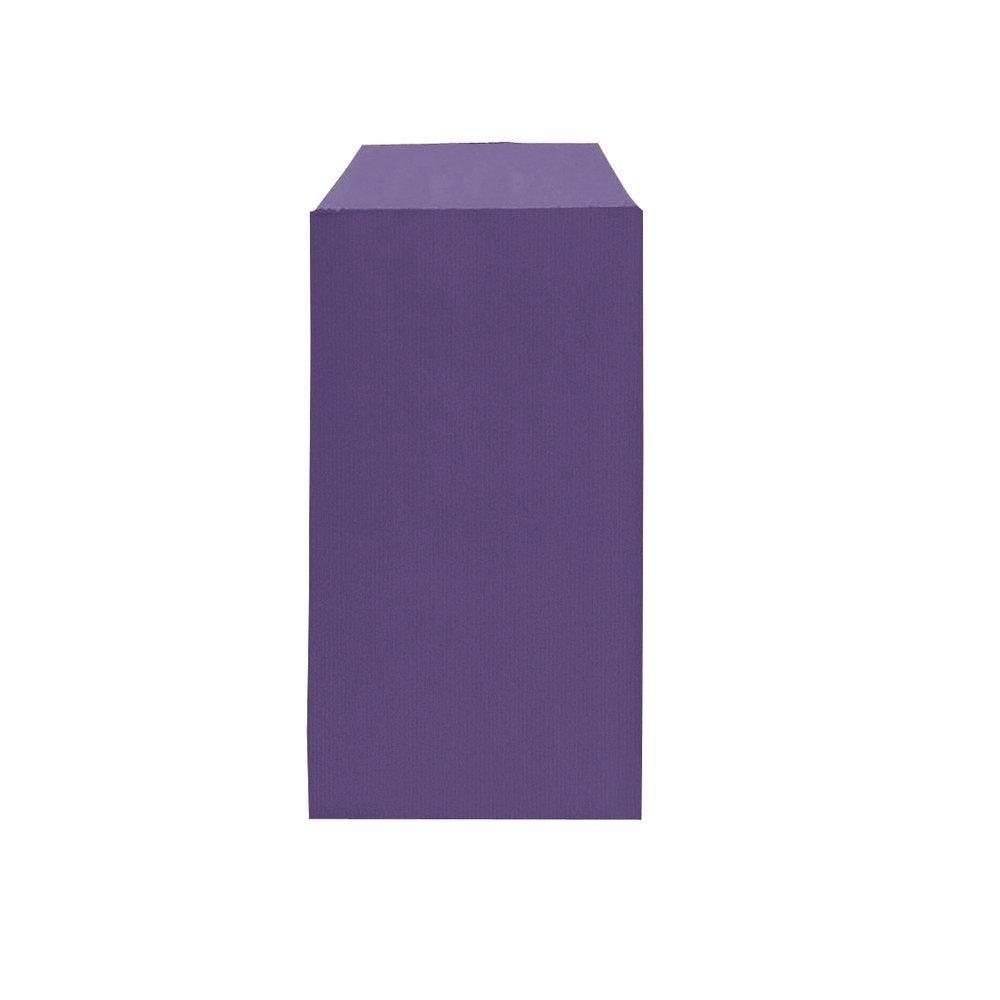 Sachets kraft violet 7x12cm - par 250