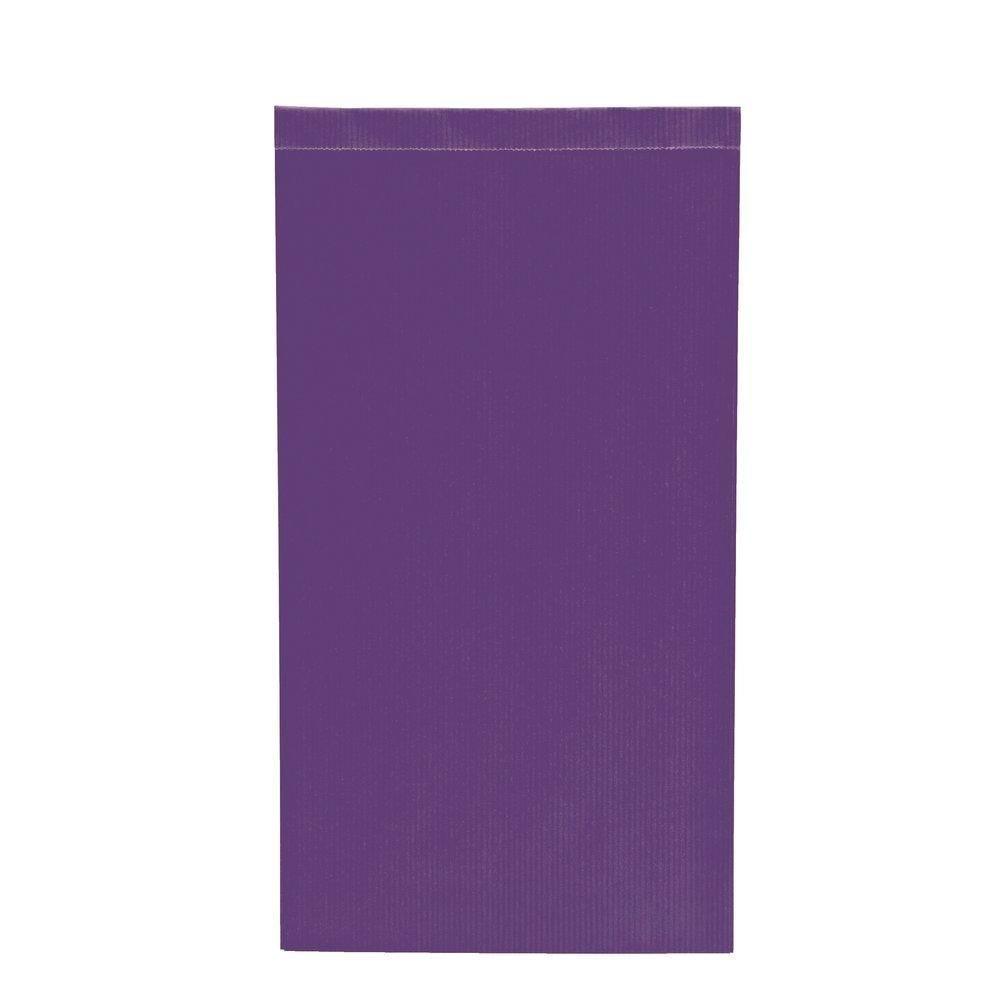 Sachets kraft violet - 17x7x35cm - par 250