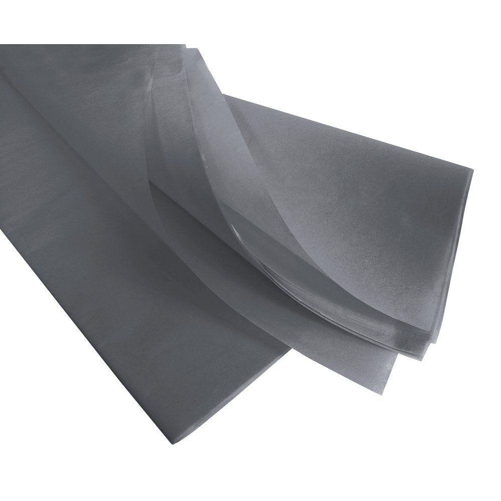 Papier de soie - 50  x 75 cm - 240 feuilles - gris perle (photo)